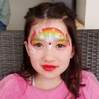 Body schmink studio kinderfeest one stroke helmond