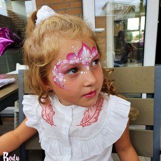 Body schmink studio kinderfeest princess eindhoven 3