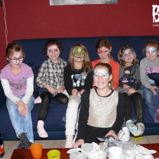 Body schmink studio lisa kinderfeest