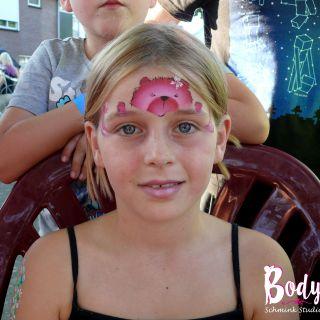 Body schmink studio pink teddy beek en donk