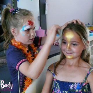 Body schmink studio workshop schmink kinderfeest beek en donk 16
