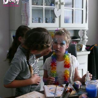 Body schmink studio workshop schmink kinderfeest beek en donk princess