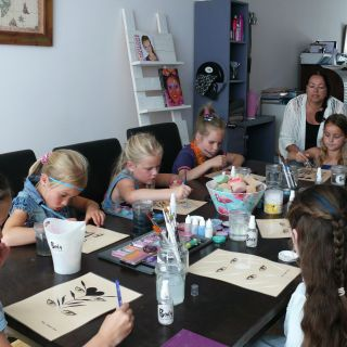 Body schmink studio workshop schmink kinderfeest beek en donk