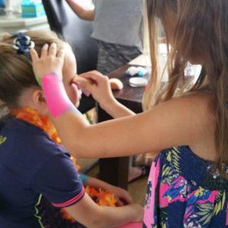 Body schmink studio workshop schmink kinderfeest