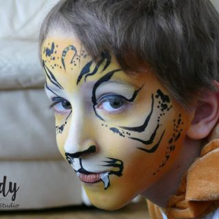 Body schmink tiger