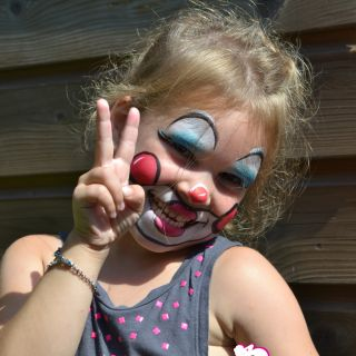 Body schminkstudio kinderfeest clown 4