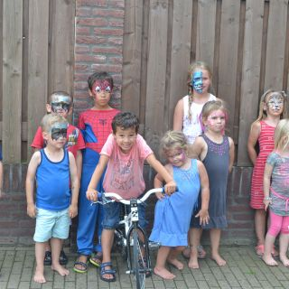 Body schminkstudio kinderfeest group