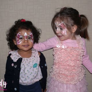 Body schminkstudio kinderfeest princess vlinder2
