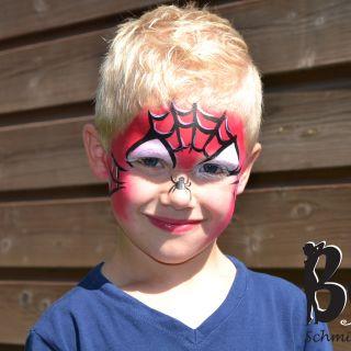 Body schminkstudio kinderfeest spider man1