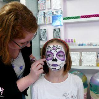 Body schmink studio cursus sugar skull beek en donk 11