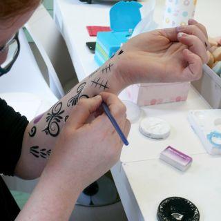Body schmink studio cursus sugar skull beek en donk 5