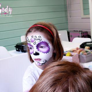 Body schmink studio cursus sugar skull beek en donk 9