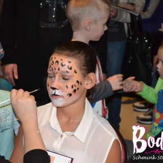Body schmink studio kind schmink kerstfeest puma3