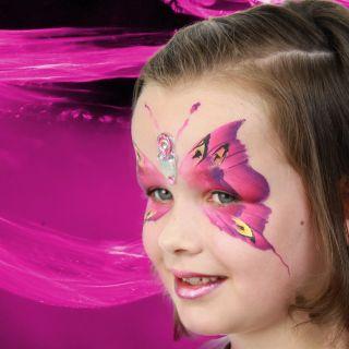 Body schmink studio vlinder met bling beek en donk