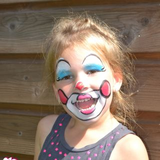 Body schminkstudio kinderfeest clown 3