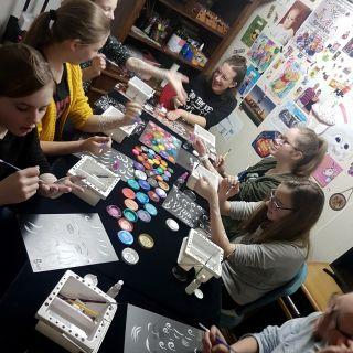 Body schmink studio tienerfeest workshop schminken beek en donk 4