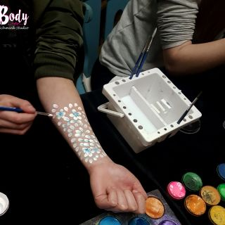 Body schmink studio tienerfeest workshop schminken beek en donk 6