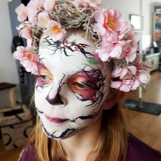 Sugarskull flowers