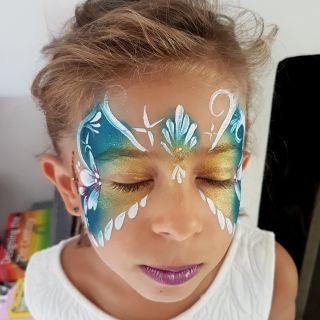Body schmink studio bloemen princess france 2