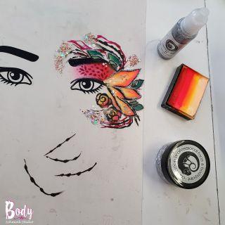 Body schmink studio workshop eyes design beek en donk